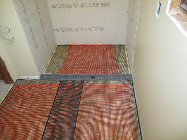 heated bathroom floor worth it concrete floors tile set restoration hardware - Heated Bathroom Floor