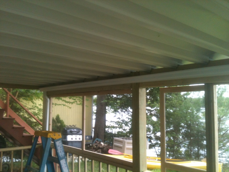 Under Deck Drainage Systems Decks Amp Fencing Contractor