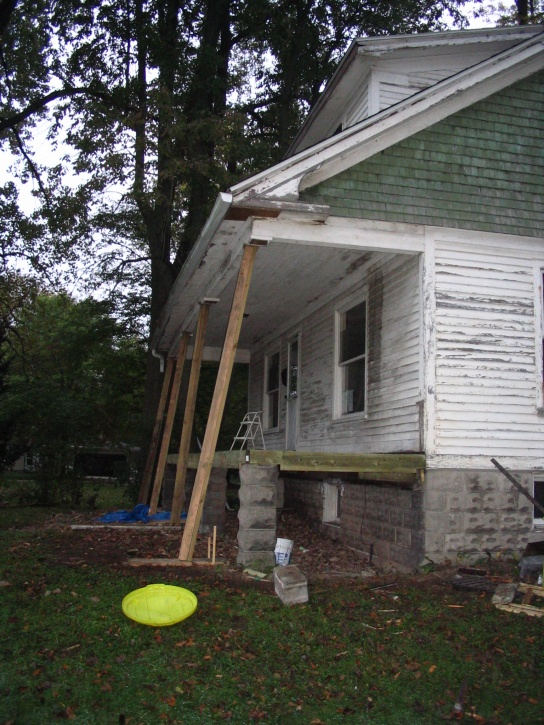 Temporarily Supporting Porch Roof General Discussion