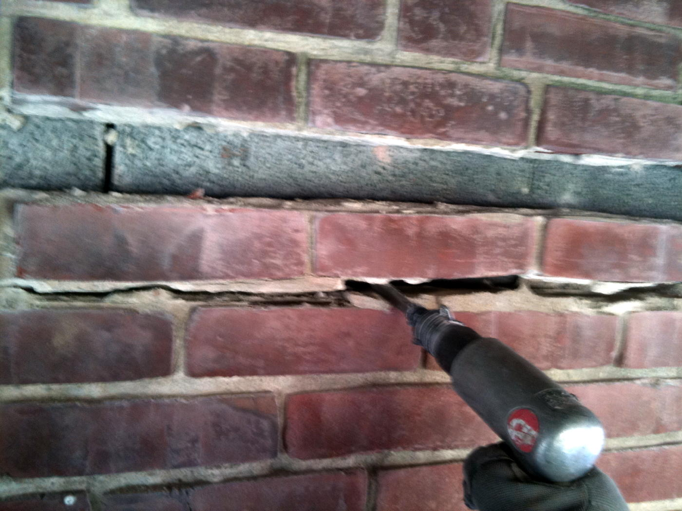 Strongboy wall support prop for hire best at hire -  Load Bearing Opening Img_0550a Jpg