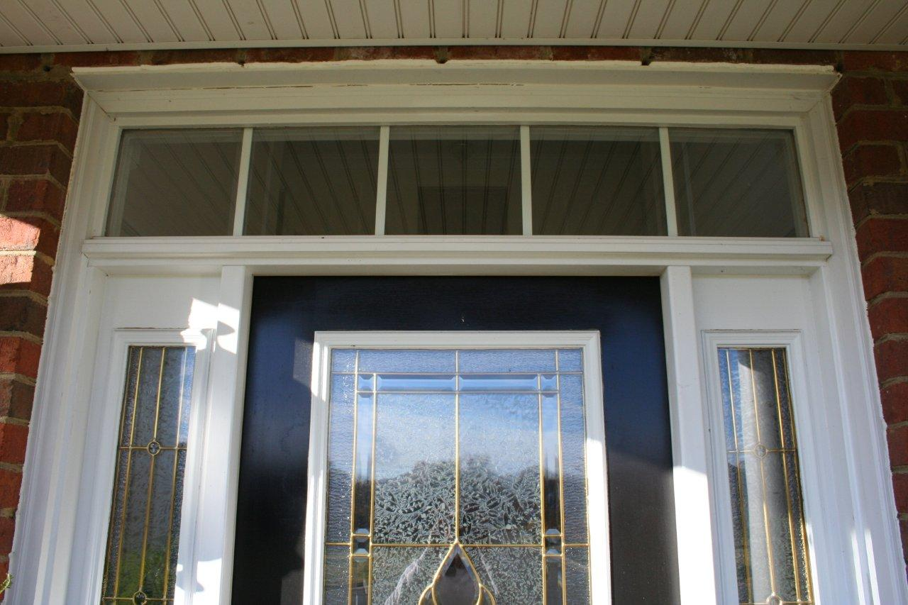 Front door with sidelights and transom - Storm Door Install With Sidelights And Transom Img_0889 Jpg