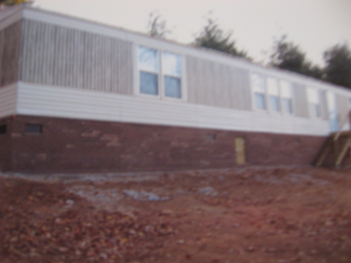 stone skirting for mobile homes with Block Skirting Under Manufactured Home Lay Wet Dry 135855 on Siding Options together with Happy Birthday To Meeee moreover Exterior Ideas For Mobile Homes further Modular Homes Landscaping together with 7 Testimonials And Reviews.