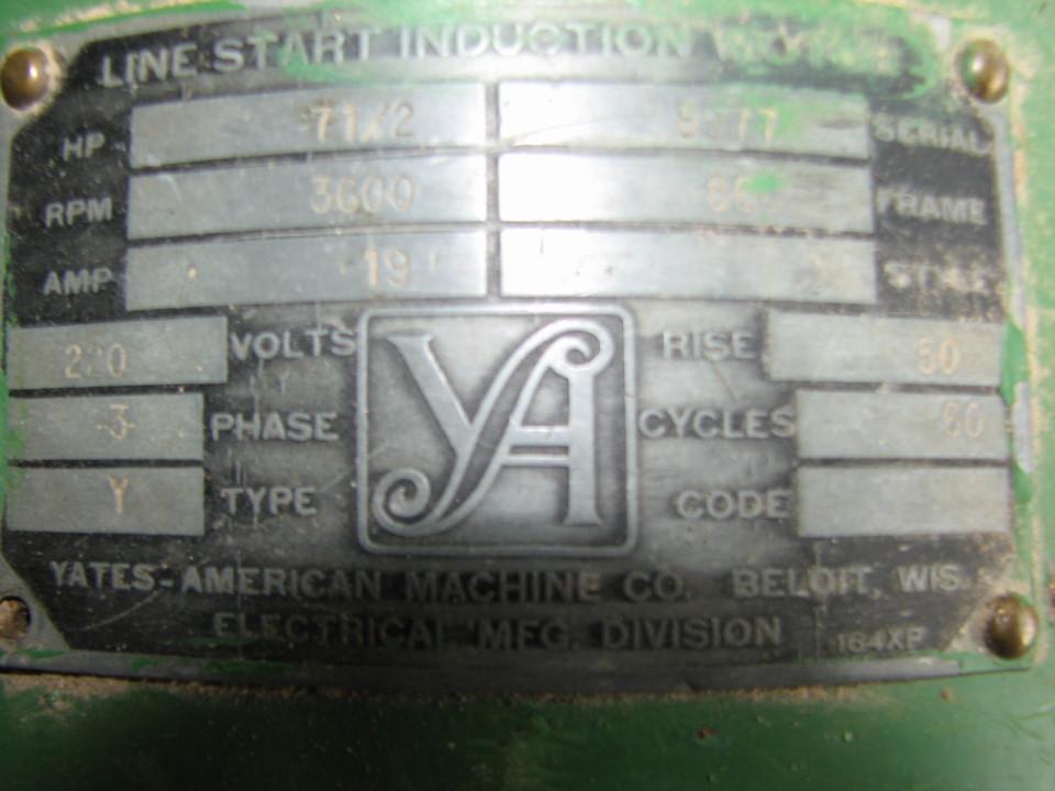 Yates American M60 B 44 24 Quot Planer Tools Amp Equipment