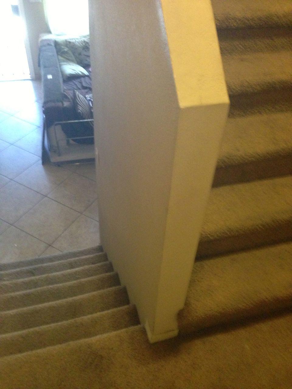 Allure Vinyl Plank Glue Down Staircase Nose Edge Advice Img 1082 Jpg