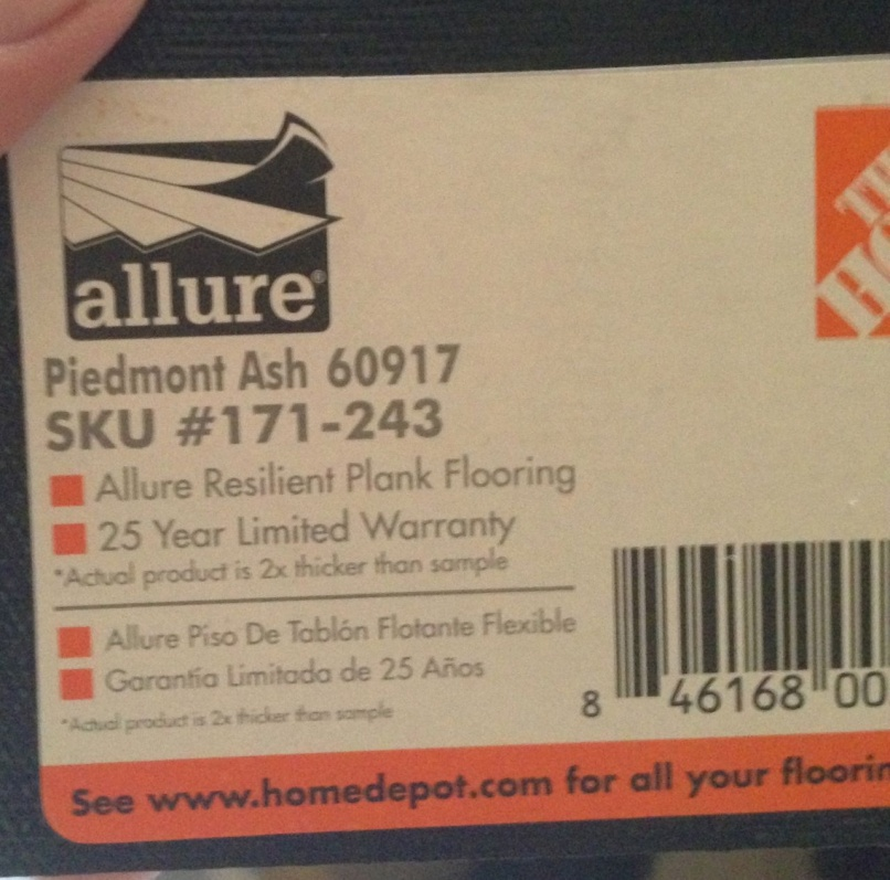 ... Allure Vinyl Plank Glue Down Staircase Nose Edge Advice Img_1084