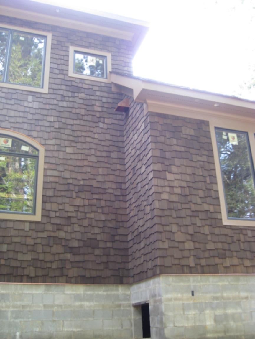 Woven Corners For Cedar Shingles Windows Siding And