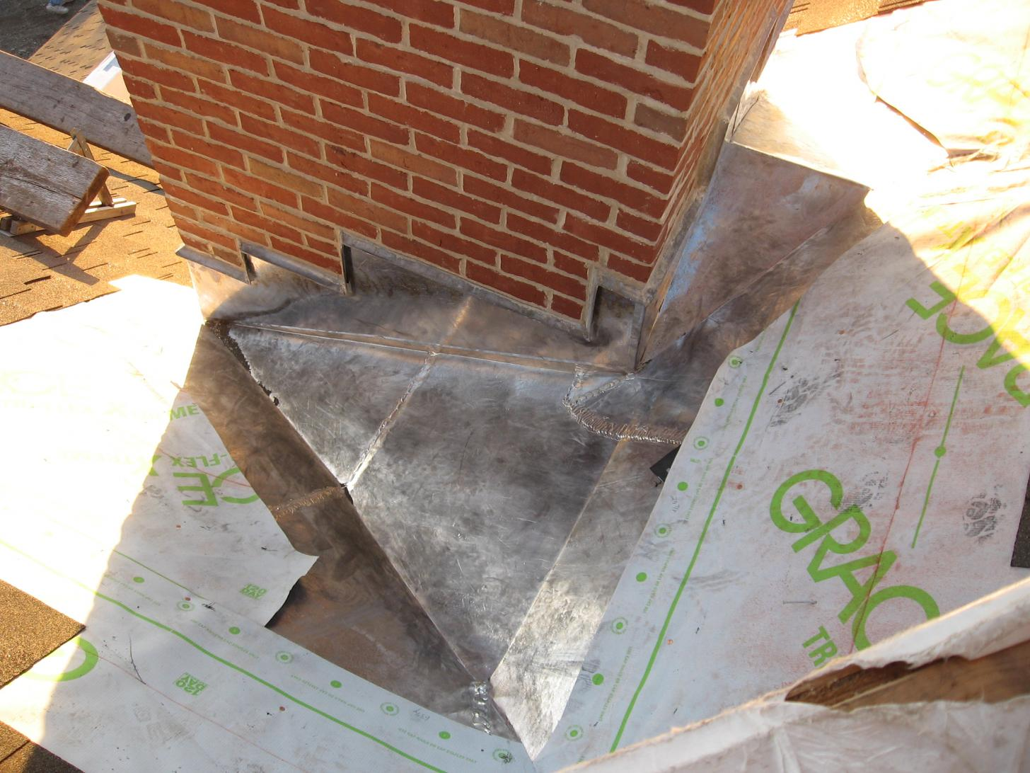 Chimney Step Flashing Vidieo Roofing Contractor Talk