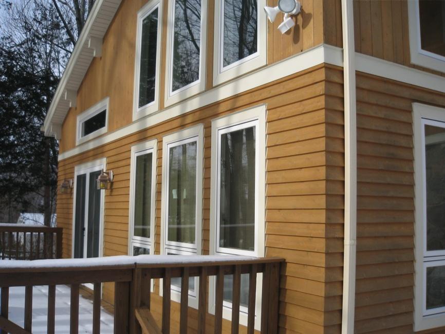 Cedar siding corner trim cedar siding pros cons options for Cedar siding pros and cons