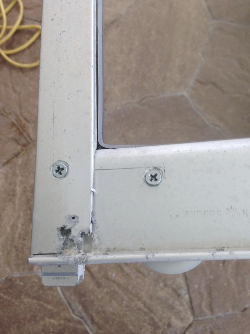 Hurricane Shutter Install On Patio Sliding Door General