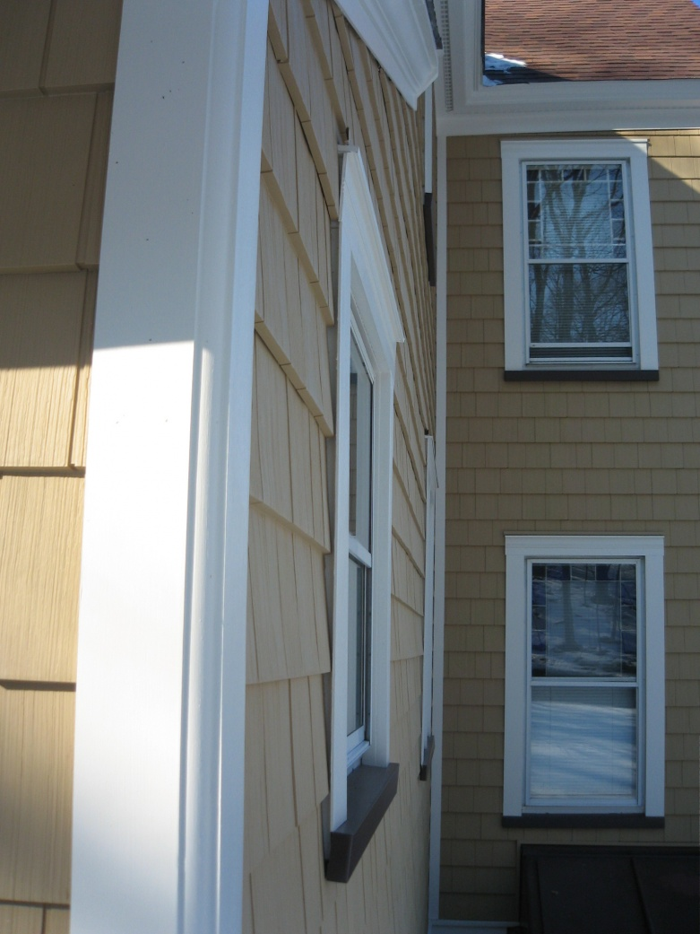Aluminum Siding And J Channel Windows Siding And Doors