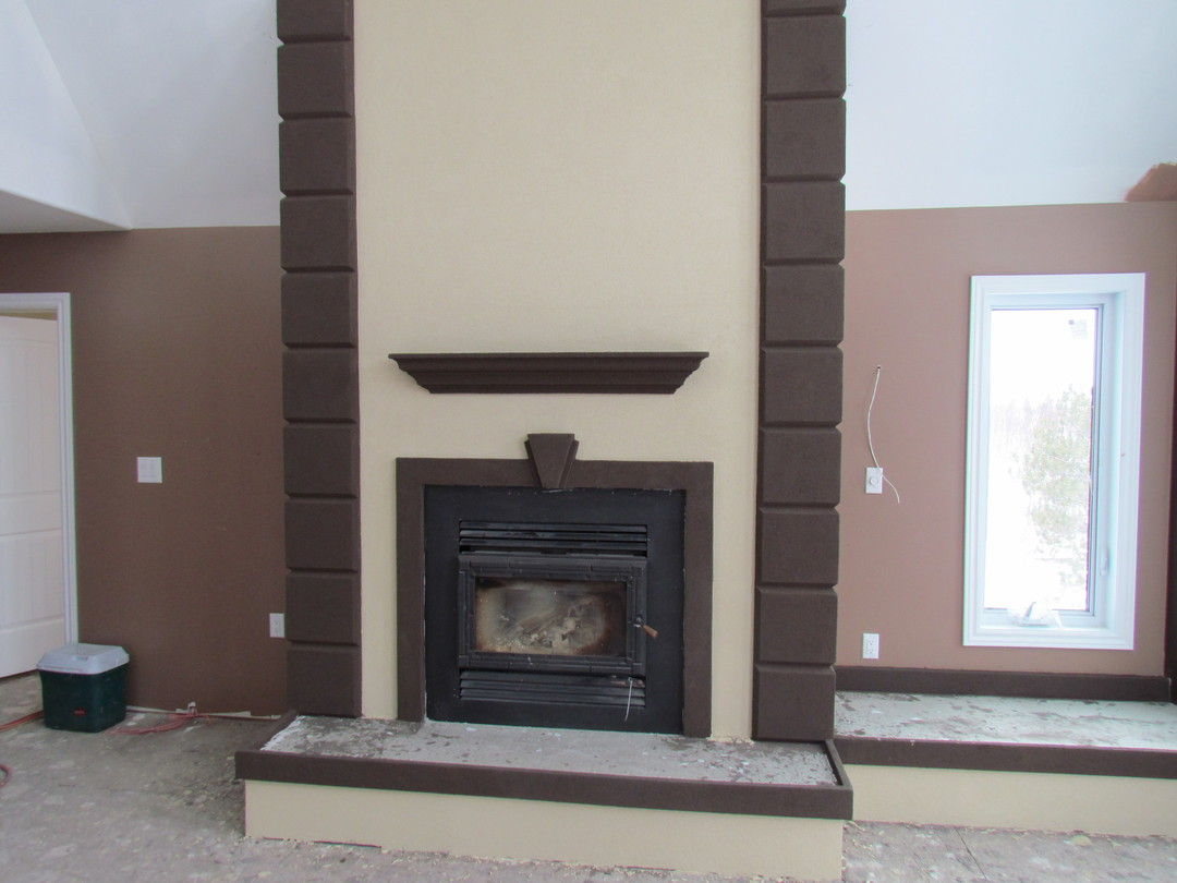 Stucco Fireplace Related Keywords Suggestions Stucco Fireplace Long T