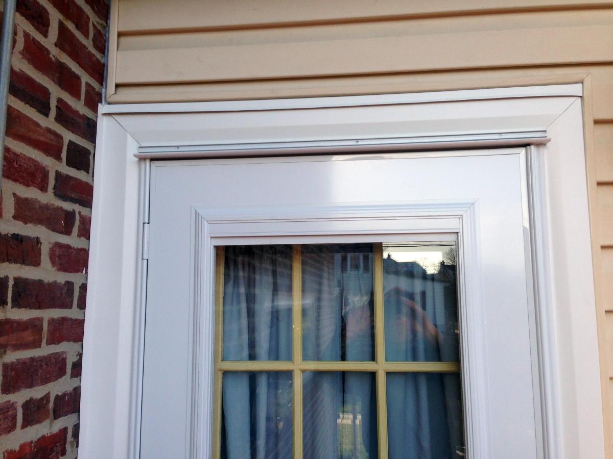 Storm Door Installation : Storm door install page windows siding and doors