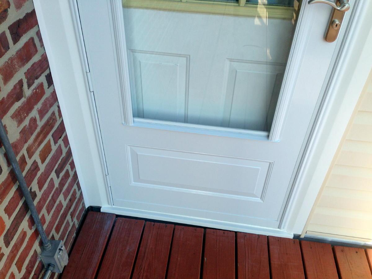 Storm Door Install Page 2 Windows Siding And Doors