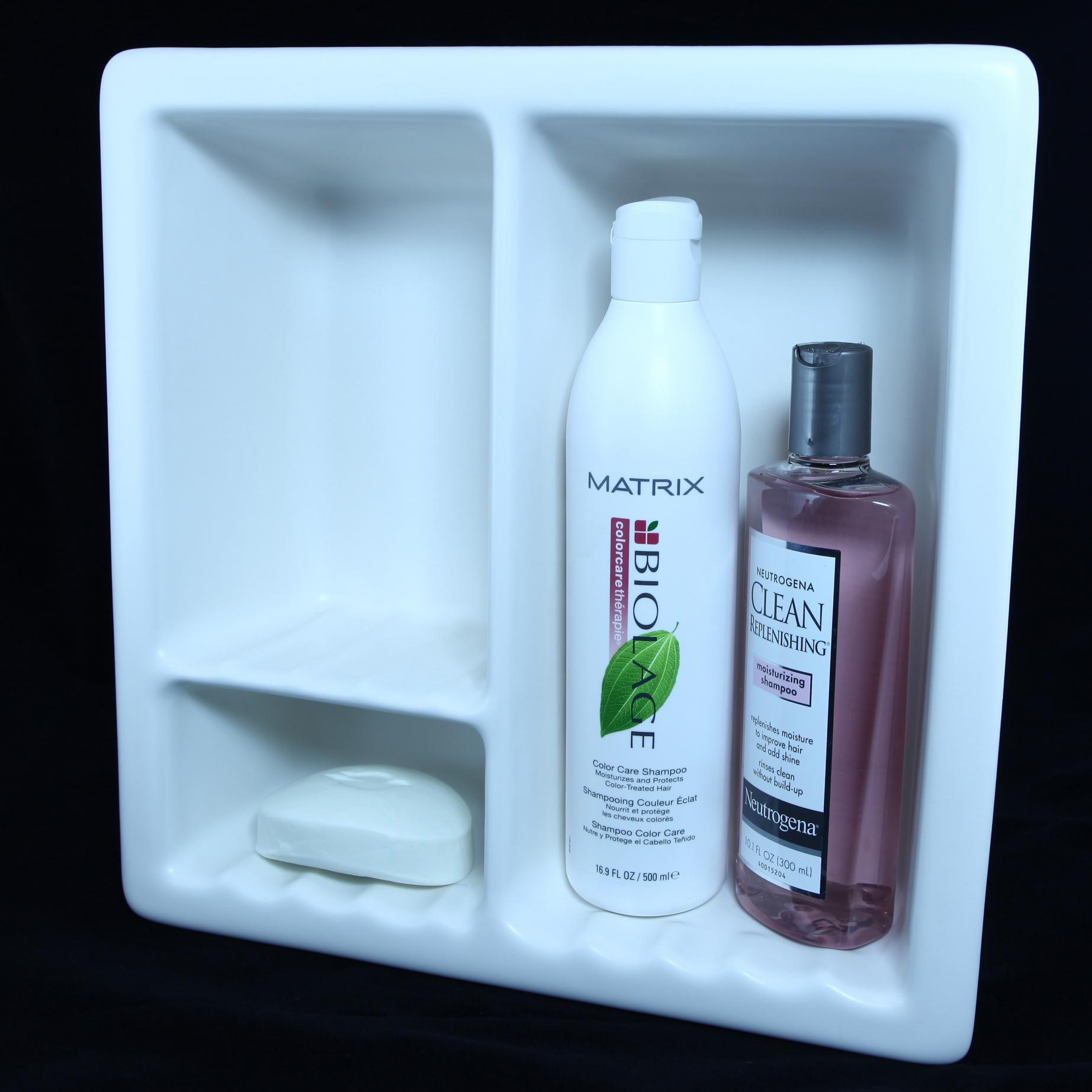Contemporary Plastic Shower Shelves Elaboration - Bathtub Ideas ...