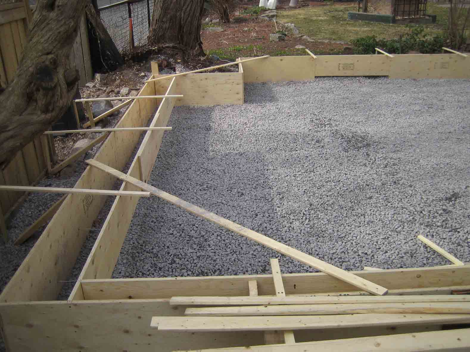 Garage Slab 20 X 20 Edge Concerns Concrete Amp Paving