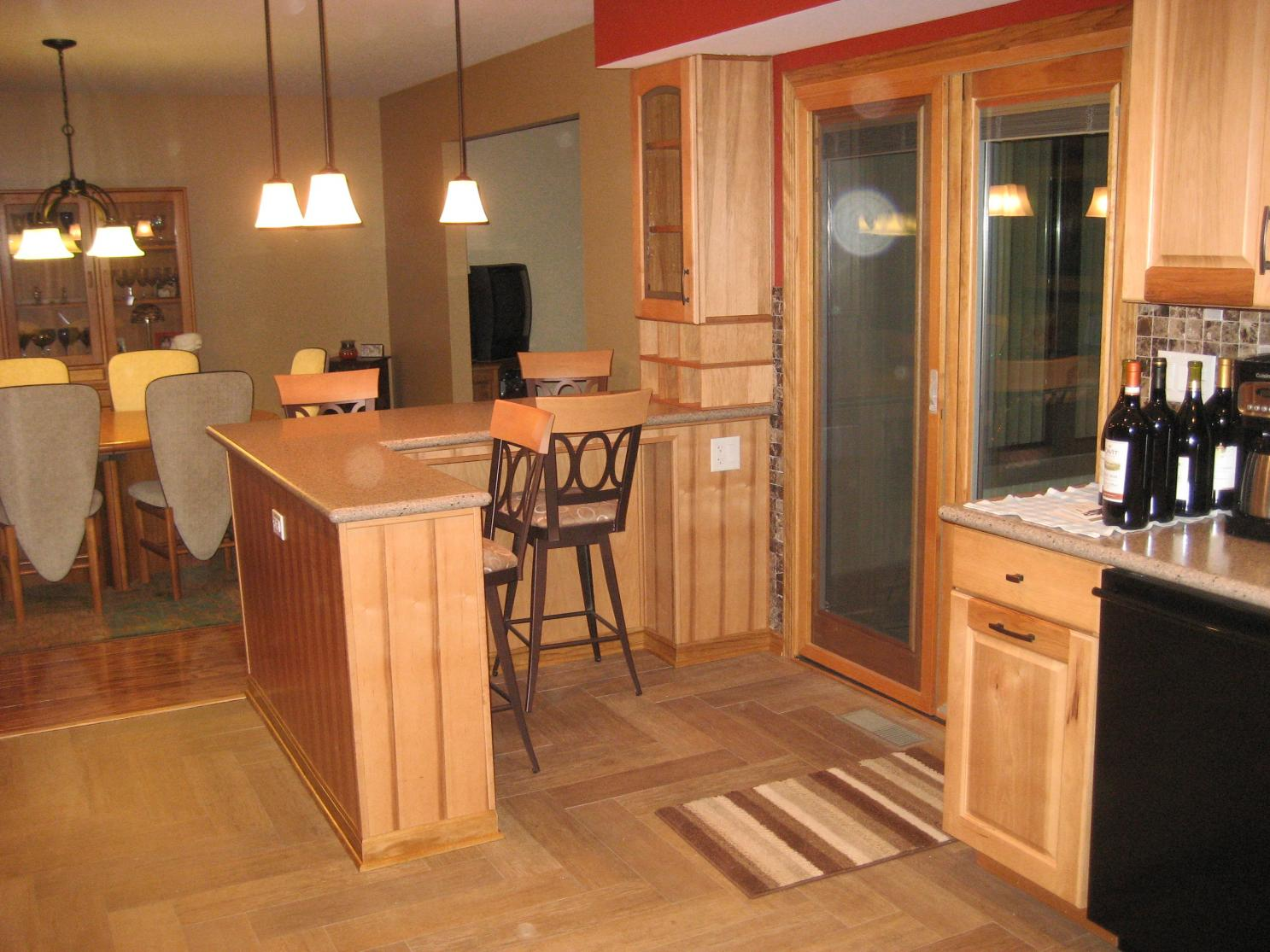 Tile Or Hardwood In Kitchen Flooring Contractor Talk