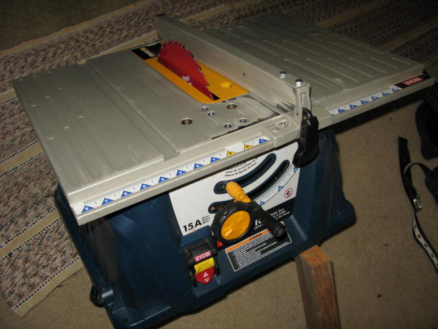 Jobsite Tablesaw On The Cheap Tools Equipment Contractor Talk