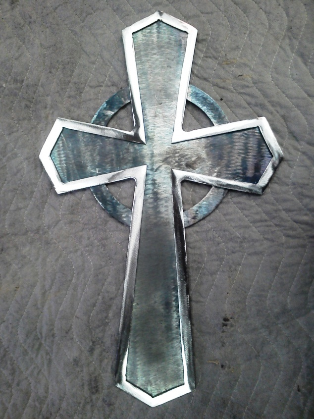 Simple Celtic Cross Specialty Trades Picture Post