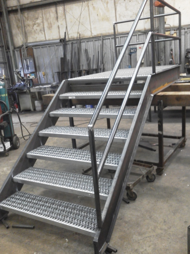 1 2 Story Steel Fire Escape Stair Specialty Trades