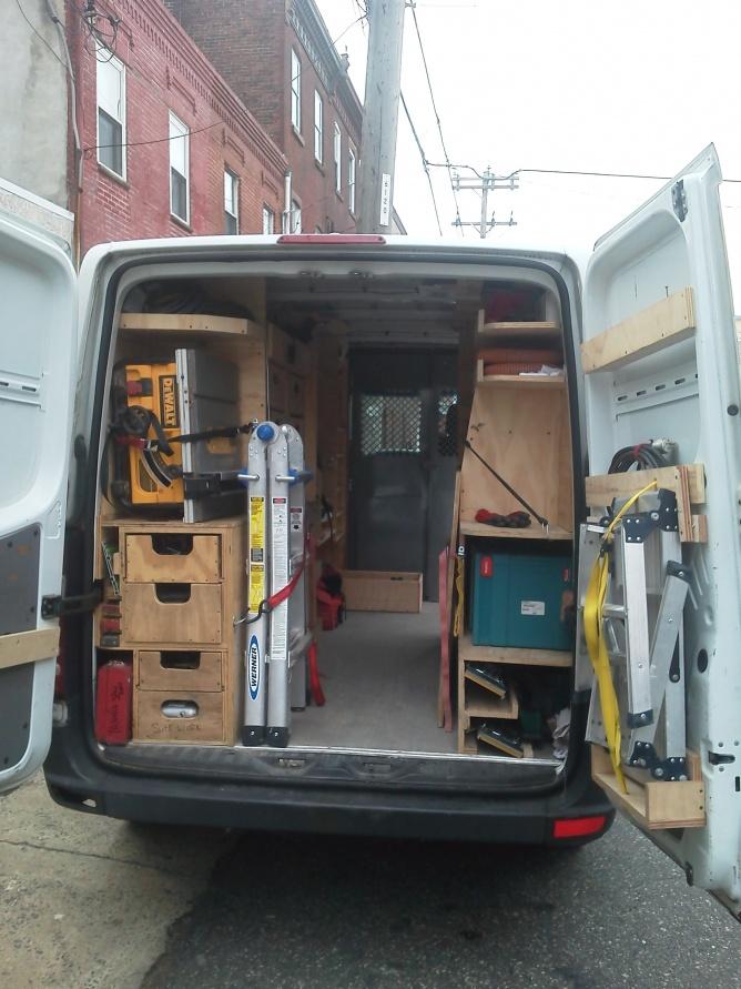 Show Me Your Sprinter Van Setup Vehicles Contractor Talk