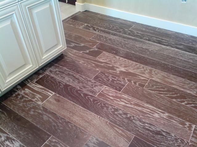 White Wash Wood Floors Basement With White Washed Wood