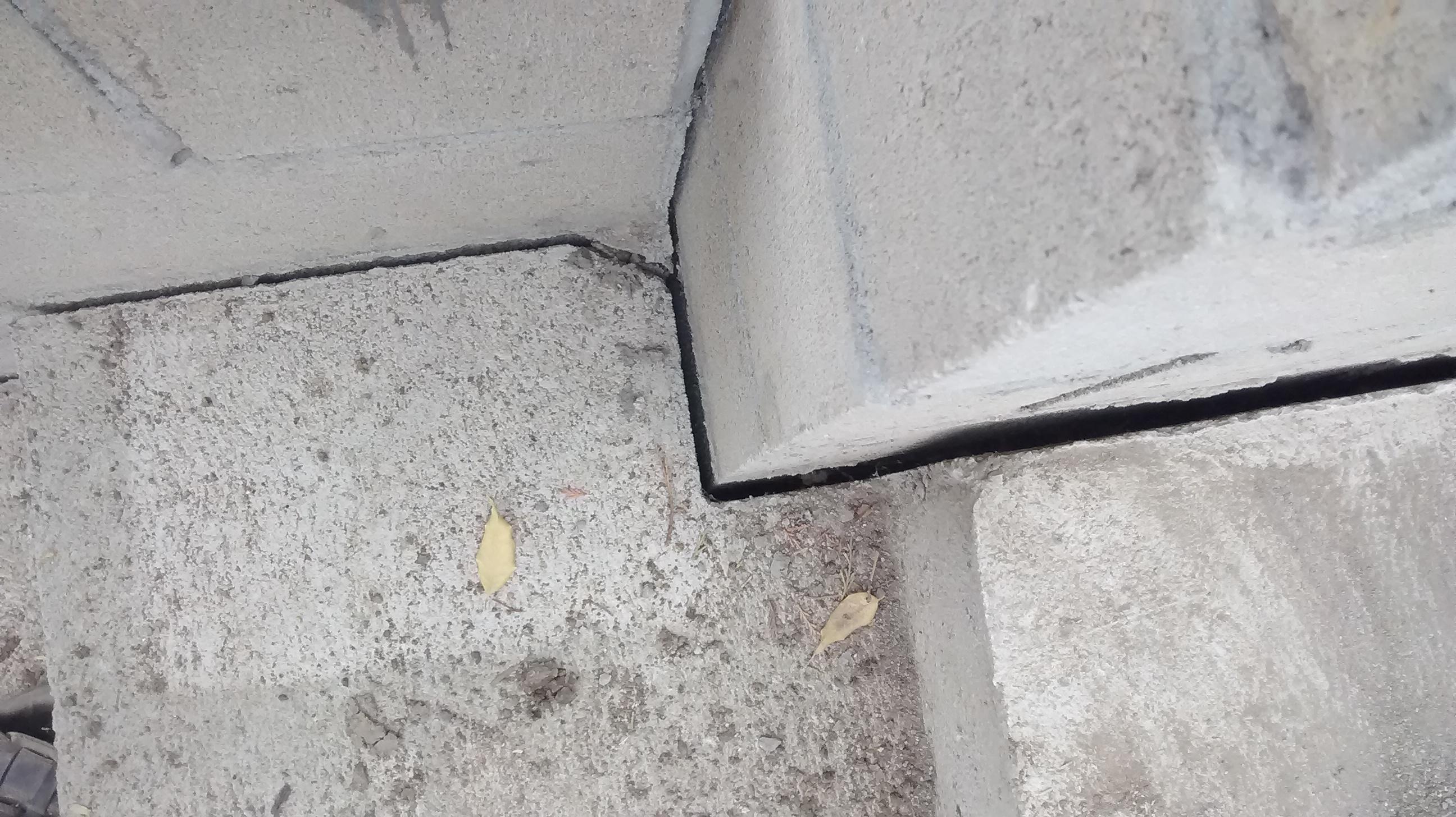 concrete steps masonry