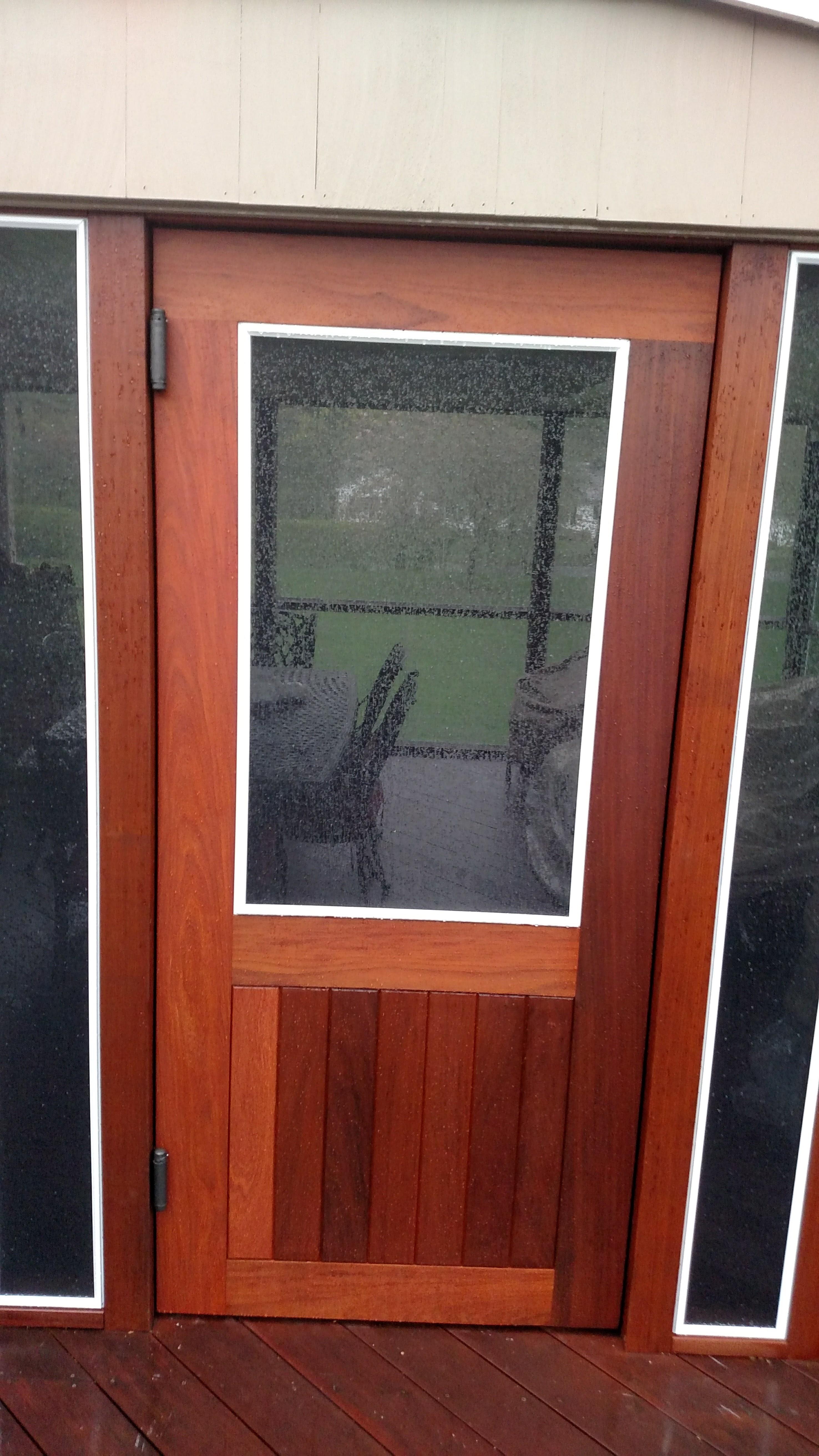 First time I ever built a door.-img_20170505_181059667.jpg
