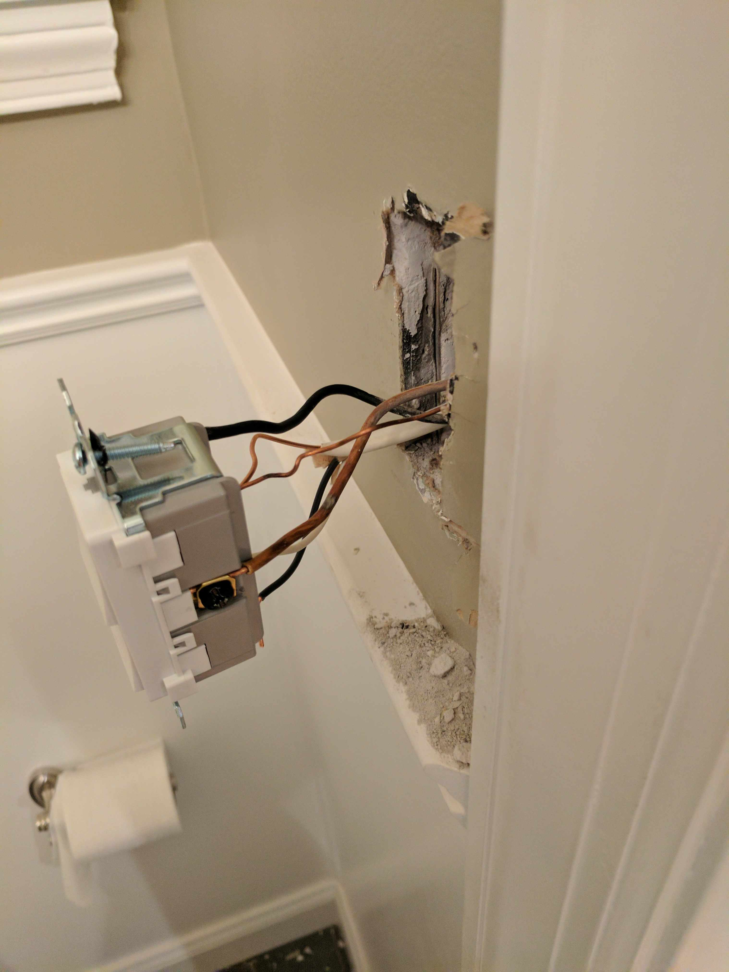 Bath Fan Light Dual Switch Electrical Contractor Talk