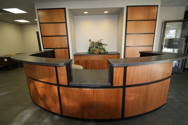 Reception Desk Carpentry Picture Post Contractor Talk