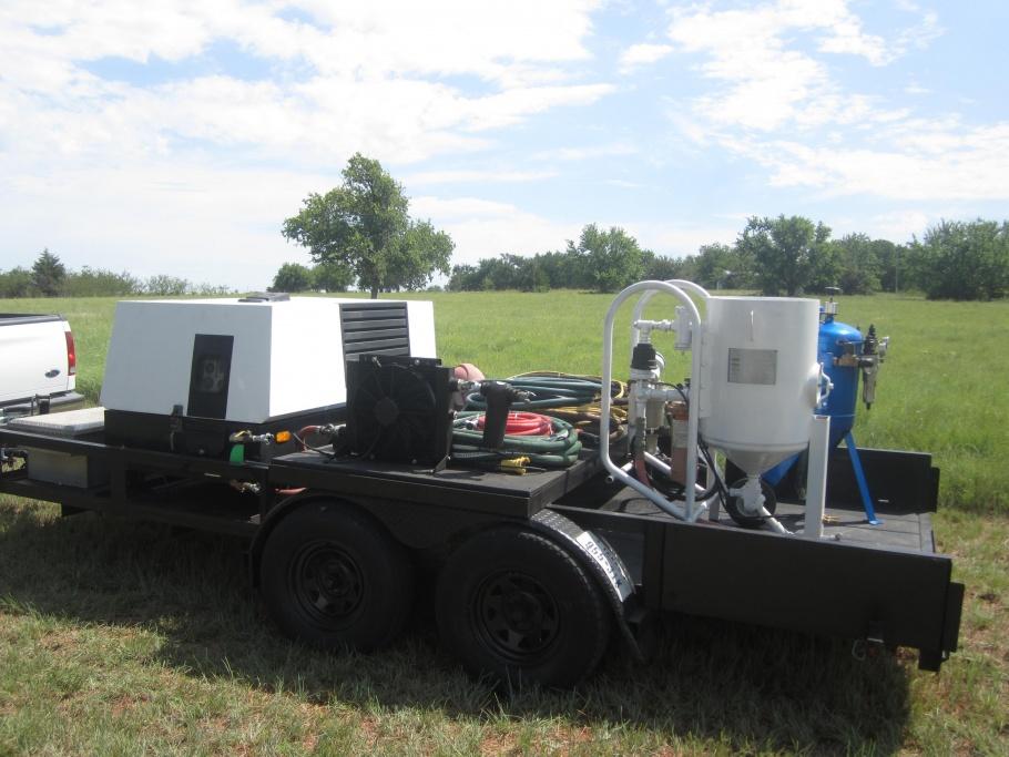 Mobile Blast Rig For Sale - Sandblasting - Contractor Talk