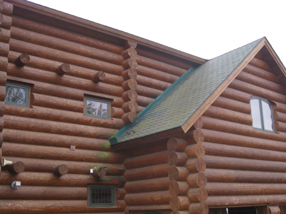 Step Flashing Log Siding Roofing Contractor Talk