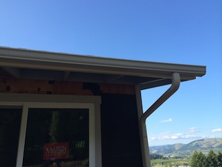 Putting Gutters On Square Cut Rafters Roofing