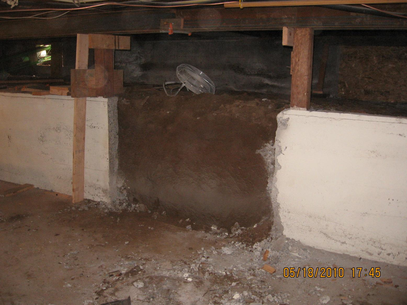 Crawl space excavation remodeling picture post for Crawl basement