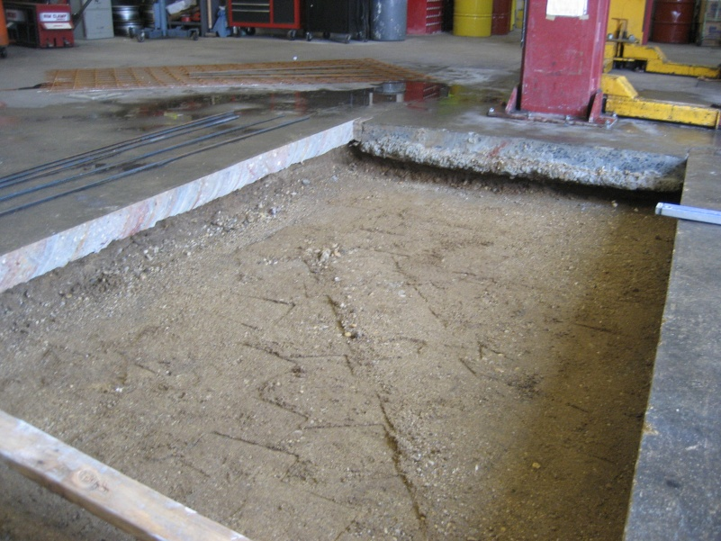 Hairline Cracks In Concrete Slab See Pics Masonry