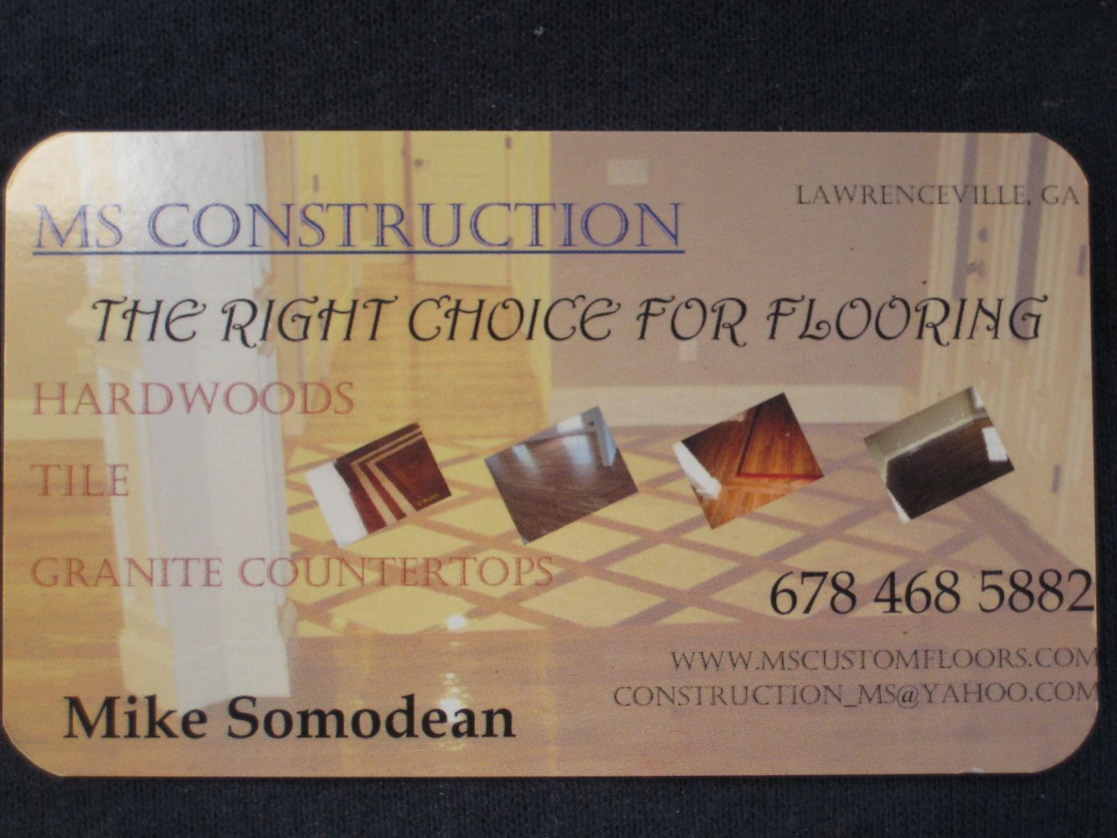 Flooring business card pertamini flooring business card colourmoves