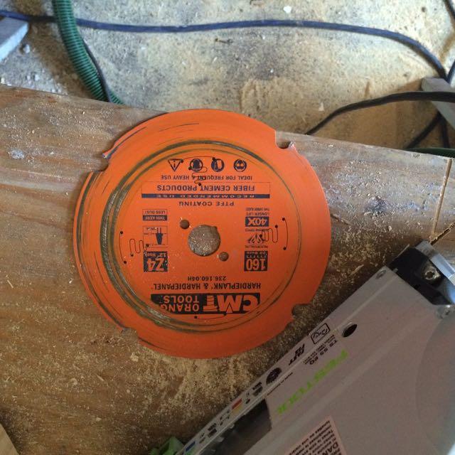 Fiber Cement Siding (HardiPlank) Cutting Tips? - Carpentry