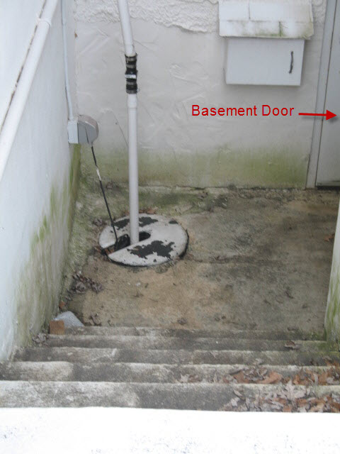 Basement walkout with sump water problems plumbing for Does a walkout basement cost more