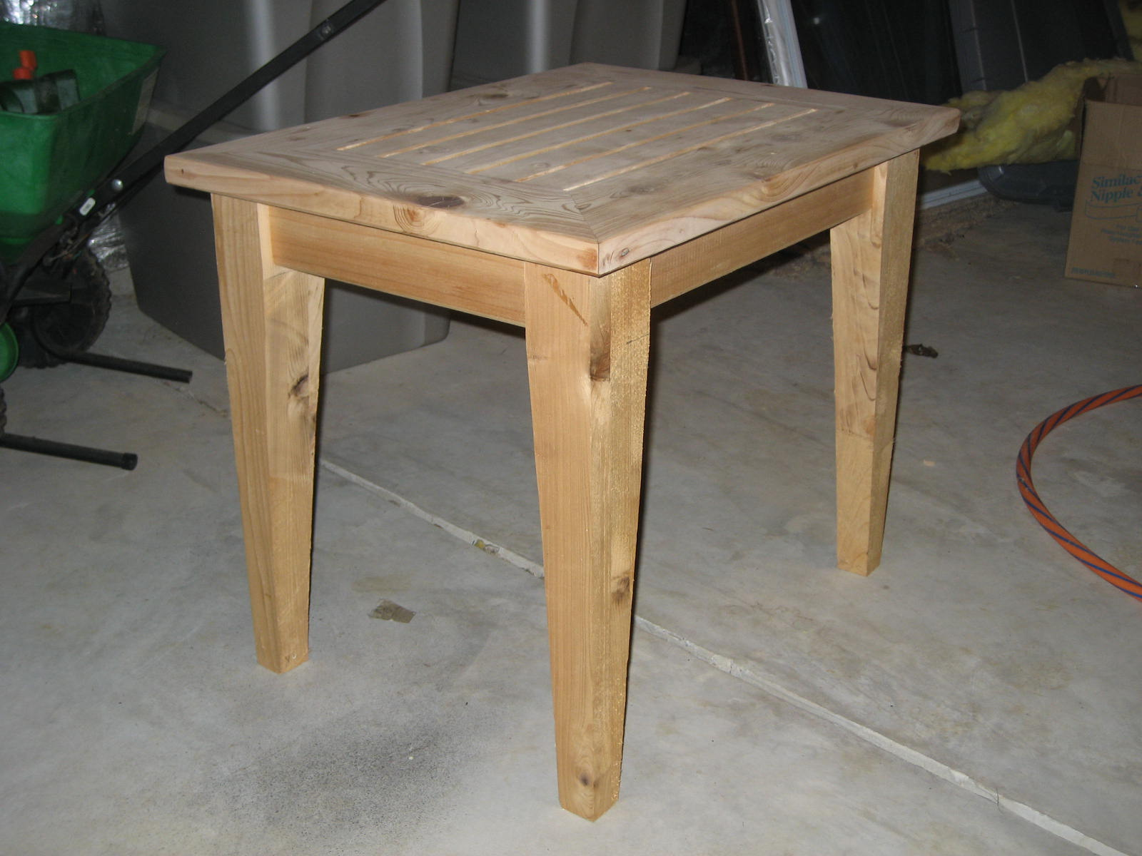 PDF DIY Simple Outdoor Side Table Plans Download shelving ...