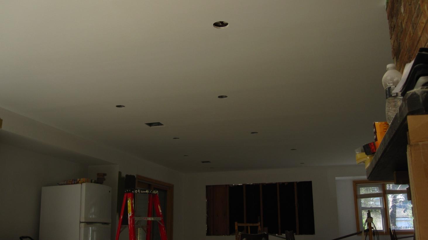 Trouble Hiding Ceiling Tape Joints