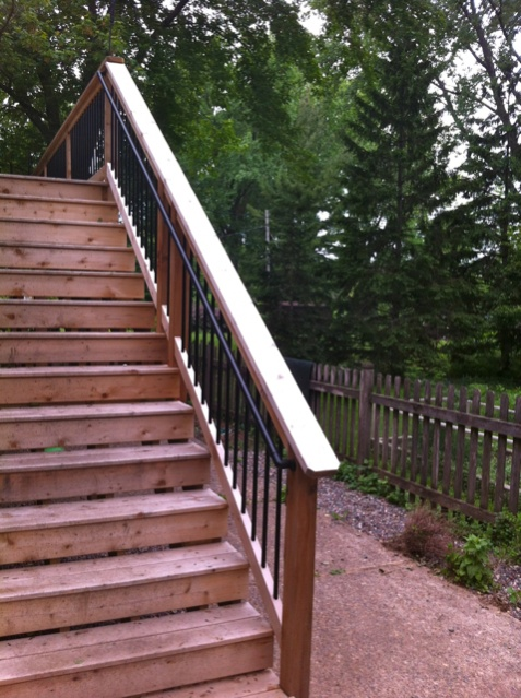 Stair Handrail Options Decks Amp Fencing Contractor Talk