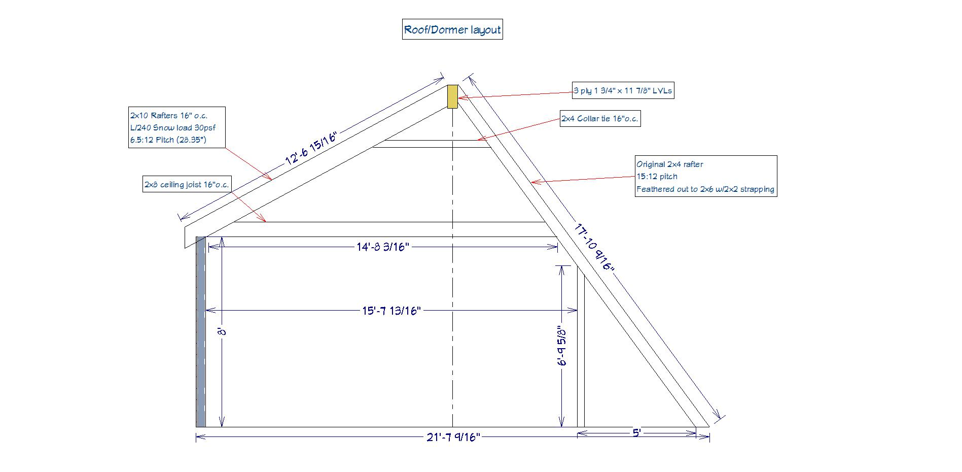 shed dormer build framing contractor talk
