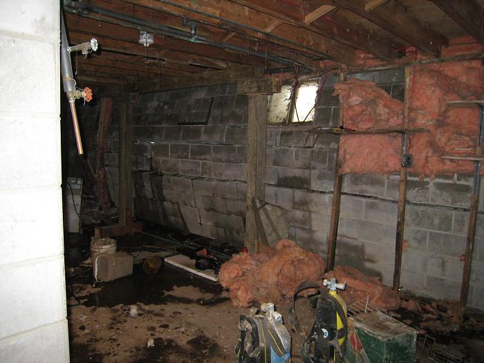 basement wall caving in general discussion contractor talk