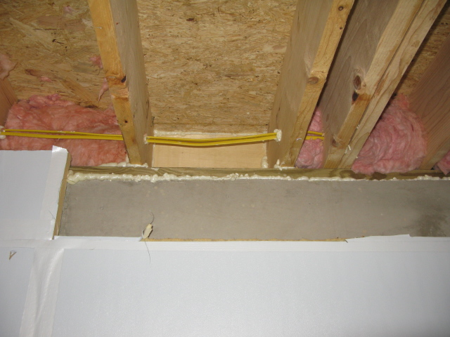 Sill Band Plate Joist Cavity Insulation Insulation