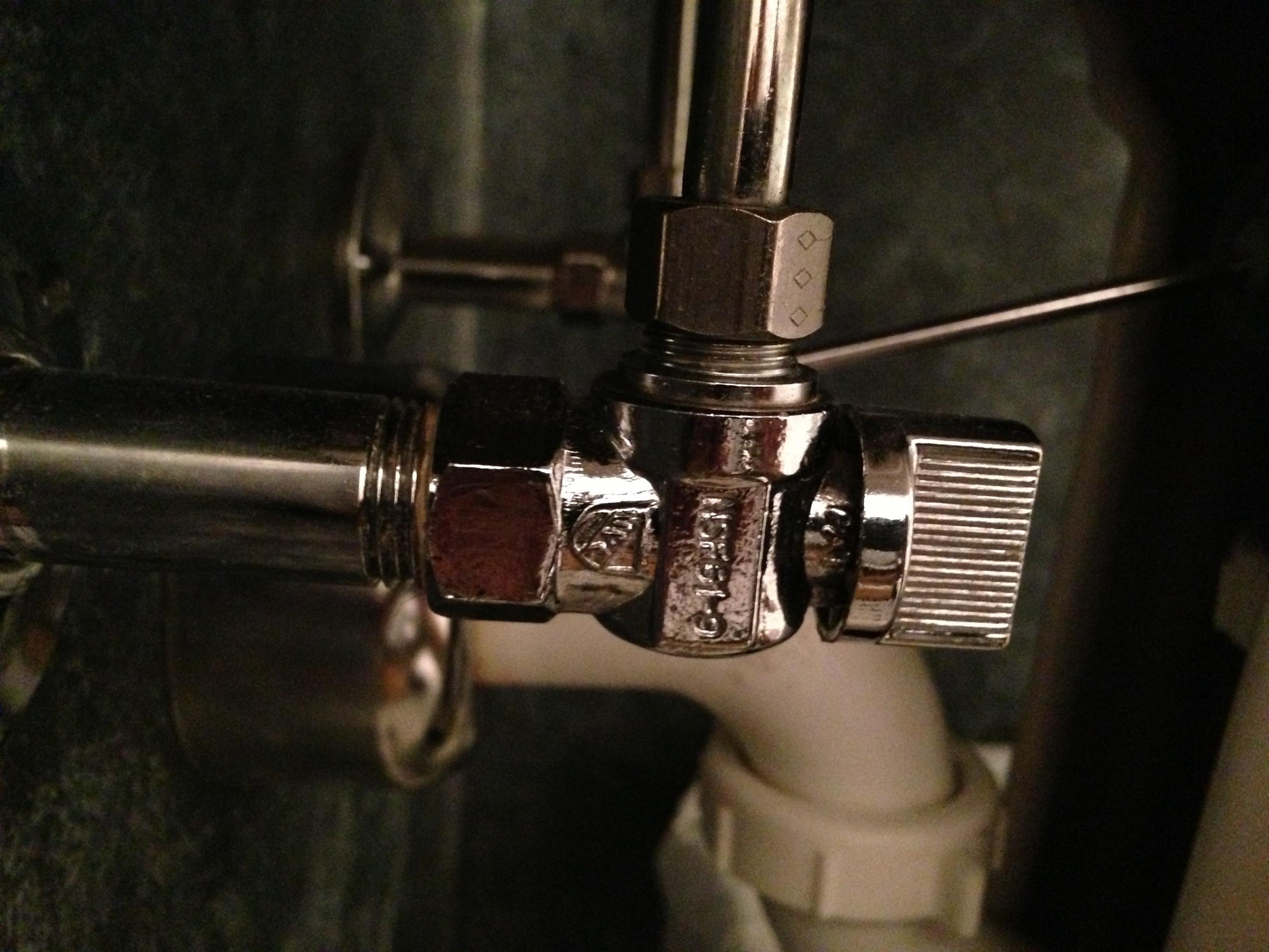 Replacement Of Toilet Shut-off Valve - Page 2 - Plumbing ...