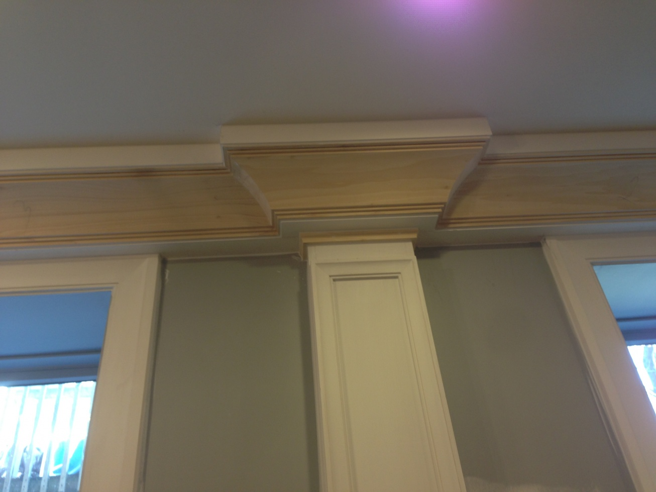 Image gallery pilaster molding for Crown columns fiberglass