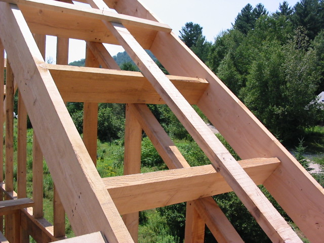 how to build point rake fly rafter