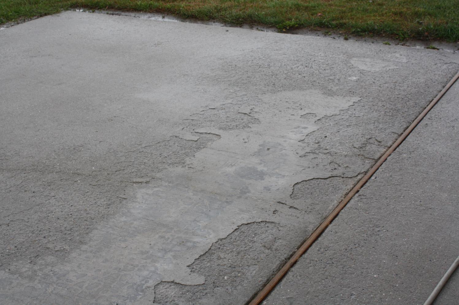 Concrete Spalling Concrete Amp Paving Contractor Talk