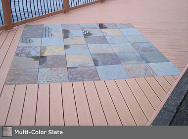 Re Exterior Stone Tile Insets At Wood Decking