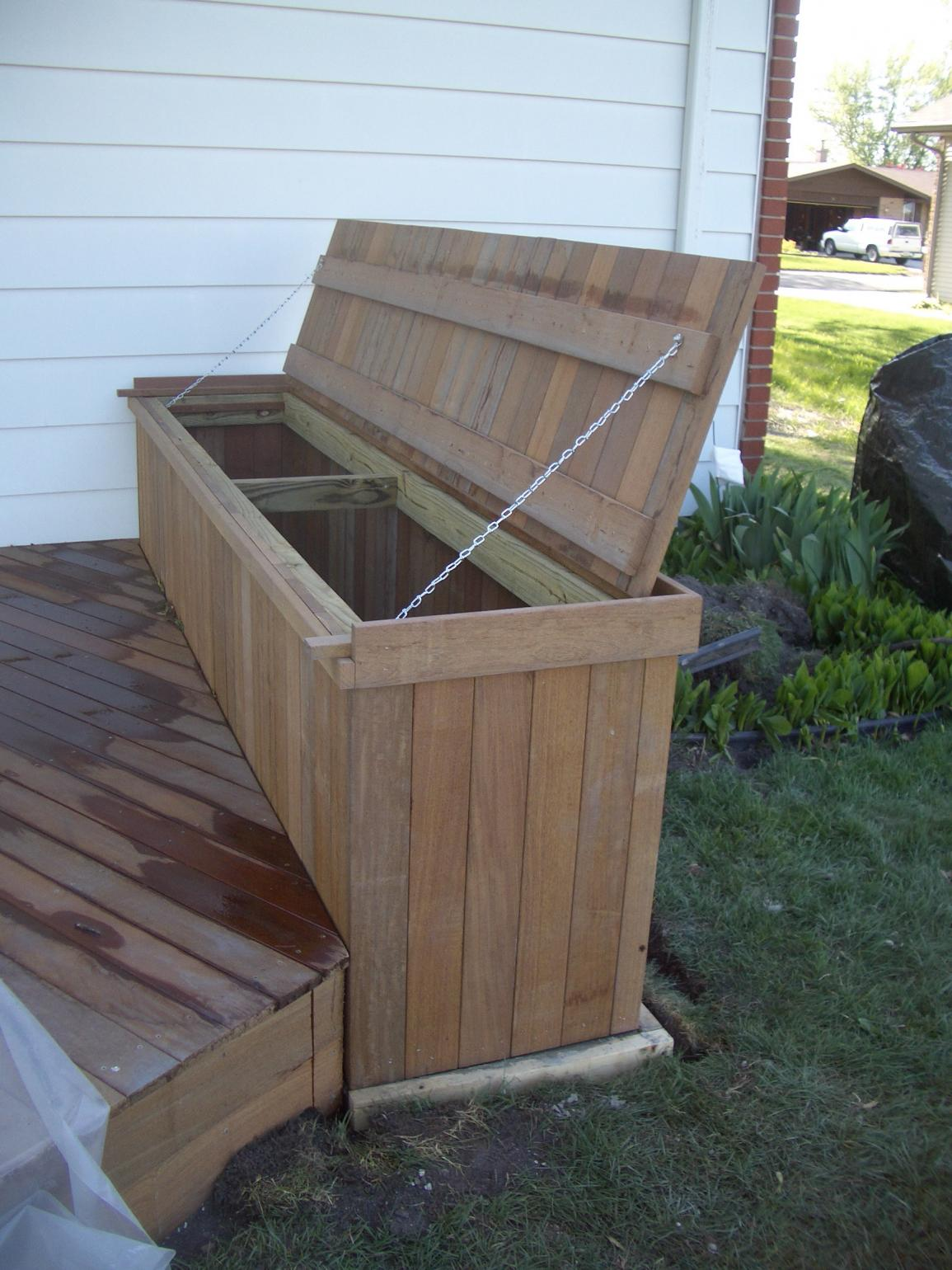 Cooler Cabinet For Ipe Deck Decks Amp Fencing Contractor