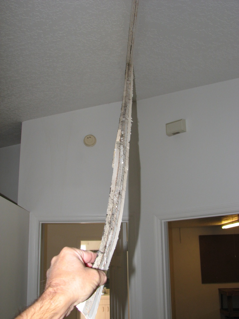 Crack At Peak In Vaulted Ceiling Drywall Contractor Talk